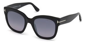 Tom Ford FT0613 Shiny Black / Smoke Mirror