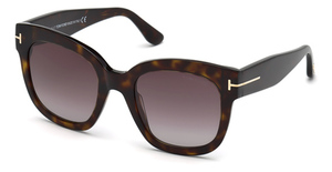 Tom Ford FT0613 dark havana / gradient bordeaux