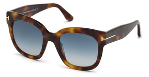 Tom Ford FT0613 blonde havana / gradient blue