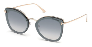 Tom Ford FT0657 Shiny Black