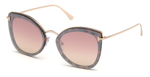 Tom Ford FT0657 coloured havana / gradient