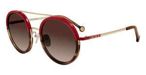 CH Carolina Herrera SHE121 Red Brown 0357