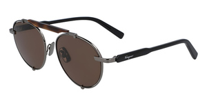 Salvatore Ferragamo SF197S (069) Dark Ruthenium
