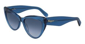 Salvatore Ferragamo SF930S (414) Blue