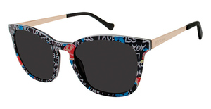 Betsey Johnson Wonderland Sun Eyeglasses