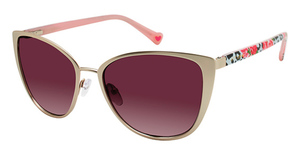 Betsey Johnson Heartbreaker Eyeglasses