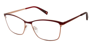 Brendel 902281 burgundy/light brown