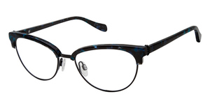 Tura by Lara Spencer LS123 Blue Tortoise/Black