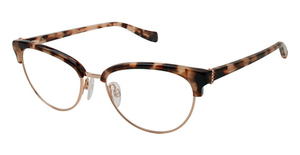 Tura by Lara Spencer LS123 TORTOISE/ROSE GOLD