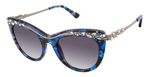 Nicole Miller Loire blue tortoise