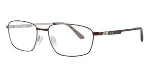 Aspex GN282 Satin Dark Brown & Shiny Silver