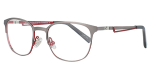 Aspex TK1099 Matt Steel & Red