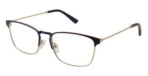Perry Ellis PE 421 Navy/Silver
