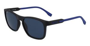 Lacoste L604SND (001) MATTE BLACK/BLUE
