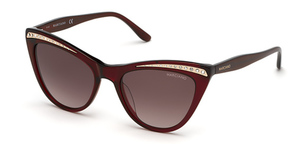 Guess GM0793 shiny red / gradient brown