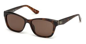 Guess GU7538 Dark Havana / Brown