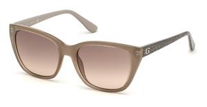 Guess GU7593 shiny beige / gradient brown