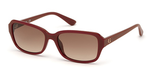 Guess GU7595 shiny red / gradient brown