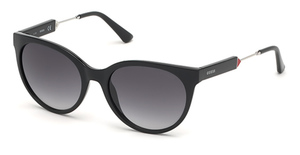 Guess GU7619 Shiny Black / Gradient Smoke