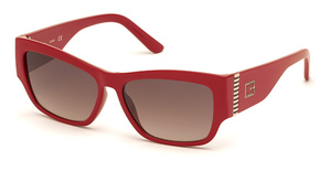 Guess GU7623 shiny red / gradient brown
