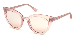 Guess GU7628 Pink /Other / Bordeaux Mirror