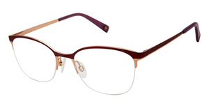 Brendel 902279 burgundy/rose gold