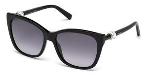 Swarovski SK0129 Shiny Black