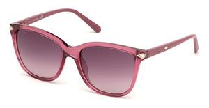Swarovski SK0192 shiny pink / gradient bordeaux