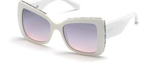 Swarovski SK0203 white / gradient bordeaux