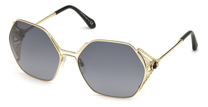 Roberto Cavalli RC1056 gold / gradient smoke