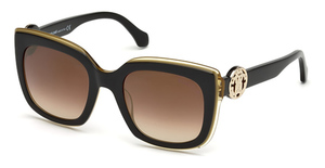 Roberto Cavalli RC1069 Black/Other / Brown Mirror