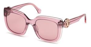 Roberto Cavalli RC1069 shiny pink / bordeaux mirror