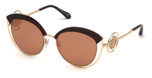 Roberto Cavalli RC1086 Light Brown/Other / Brown Mirror