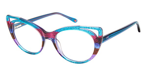 Lulu by Lulu Guinness LK025 Eyeglasses