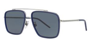 Dolce & Gabbana DG2220 Gunmetal/Matte Blue