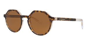 Dolce & Gabbana DG4353 Top Havana On Crystal