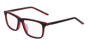 Nike NIKE 5541 (015) MATTE BLACK/GYM RED