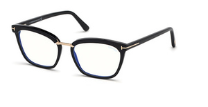 Tom Ford FT5550-F-B Eyeglasses