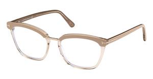 Tom Ford FT5550-F-B Eyeglasses