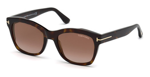 Tom Ford FT0614-F Dark Havana / Gradient Brown