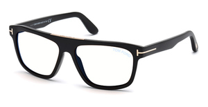 Tom Ford FT0628 Shiny Black / Gradient Smoke