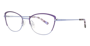 Aspex EC527 Satin Violet & Shiny Blue / Shiny Blue