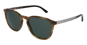 Giorgio Armani AR8104 Striped Brown