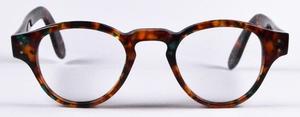 Chakra Eyewear K50562 Havana with Green Flecks