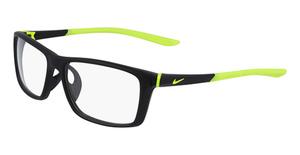 Nike NIKE 7084UF (001) MATTE BLACK/VOLT