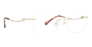 Totally Rimless TR 322 Trellis Eyeglasses