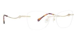 Totally Rimless TR 322 Trellis Eyeglasses