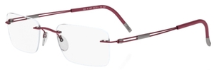Silhouette 5227-5222 Bordeaux Red