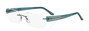 Silhouette 5231 chassis teal waves
