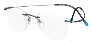 Silhouette 5490-5484 Blue Curacao/Grey 6059